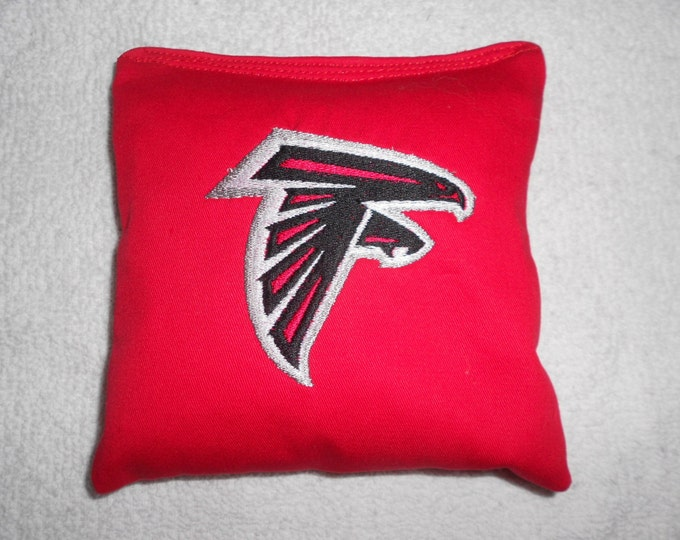 Embroidered Atlanta Falcons Corn hole Bags