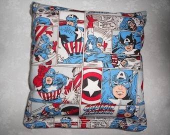 Captain Marvel Comic Strips Cornhole Bags