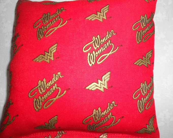Wonder Woman  Corn hole Bags