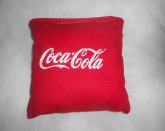 Coca-Cola  Embroidered Corn hole Bags