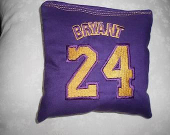 Kobe Bryant 24  Cornhole Bags