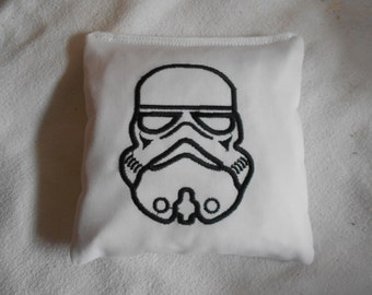 Storm Trooper Embroidered Corn Hole Bags