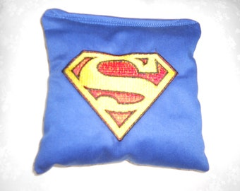 Superman  Embroidered  Corn hole Bags  SALE