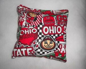 Ohio State Corn hole Bags