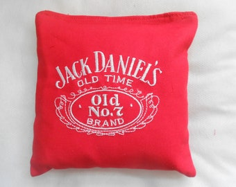 Jack Daniels Embroidered Corn hole Bags