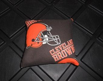Browns Football Corn hole Bags