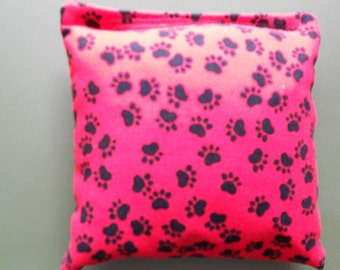 Red Paws Cornhole Bags