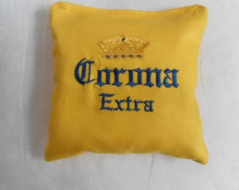 Corona Extra Embroidered Corn hole Bags