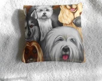 DogsCorn hole Bags