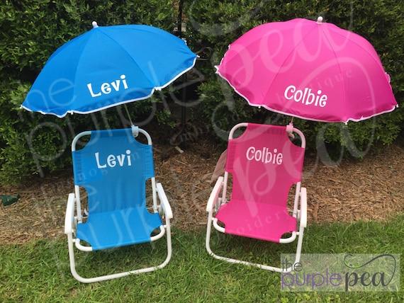Super Easter 2019 Monogrammed Beach Chair Monogrammed Kids Beach Chair W Umbrella Customarchery Wood Chair Design Ideas Customarcherynet