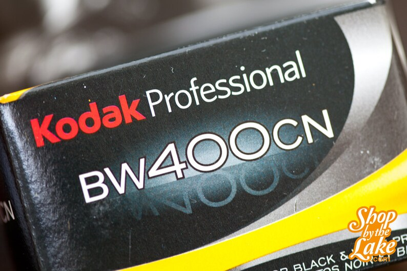1 Roll Expired 35mm Kodak Black and White Regular C-41 400CN Film 24 exp