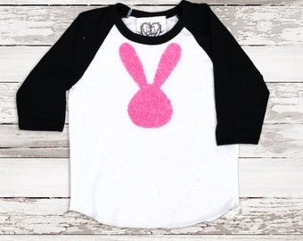 e174de55bc2 Easter Shirt Sequin Bunny Tee Baseball T Shirt Some Bunny Loves Me Funny  Easter Tee Women Kids Baby Plus Size Sequin Easter Bunny Patch Tee