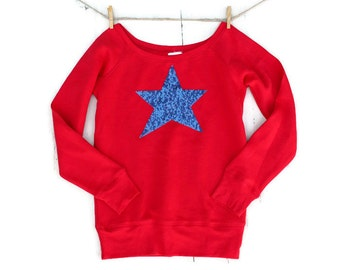 4th of July Shirt, 4th of July Sweatshirt Jumper,  Womens, Red White and Blue, USA,  Fourth of July,  America American Flag Merica , Tumblr
