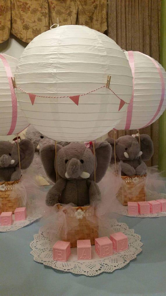 Hot Air Balloon Centerpiece Elephant Centerpiece Nursery