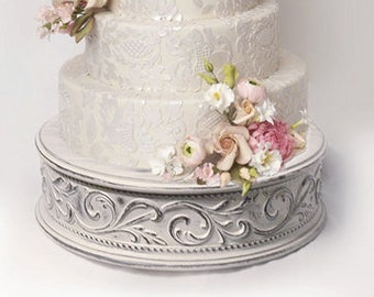Vintage wedding cake stand for shabby chic weddings size 17""