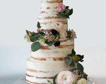 """20"""" Shabby chic wedding cake stand and serving tray"""