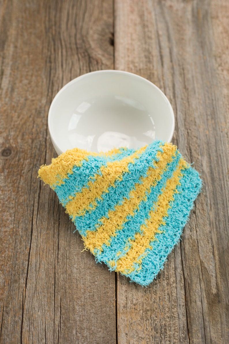 Scrubby Crochet Dishcloth Pattern Scrubbie Dishcloth Pattern Etsy