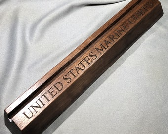 United States MARINE CORPS Challenge Coin Holder 4 - 6 Coins