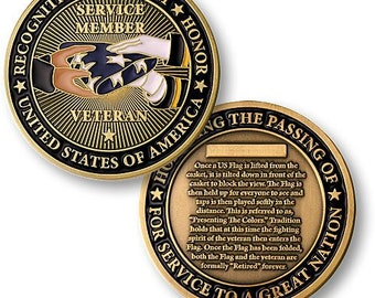 Presenting The Flag Challenge Coin