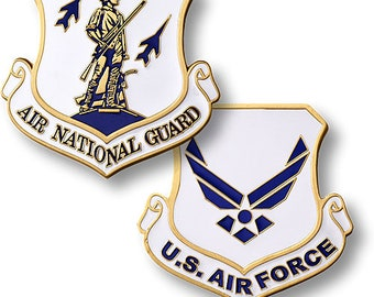 Air National  Guard Command Challenge Coin