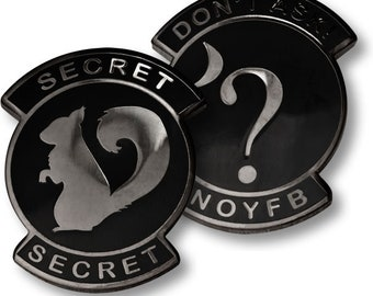 U.S. Air Force Don't Ask Secret Squirrel Challenge Coin