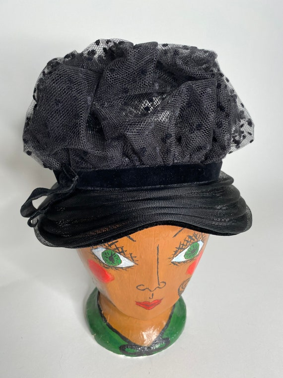 50's Netting Couture Hat