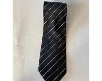 Black Stripe Tie From The Signature Collection by Donald J Trump