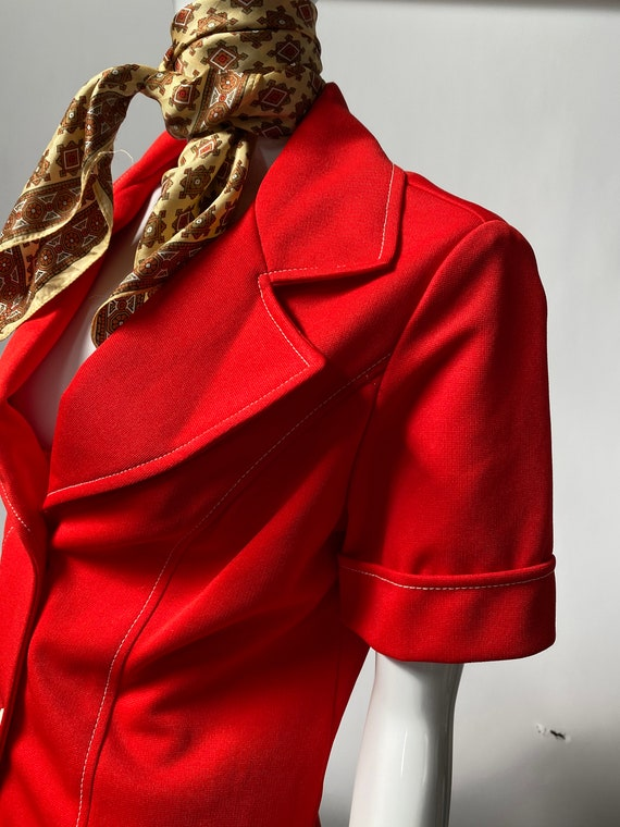 Vintage JC Penney Red Jacket