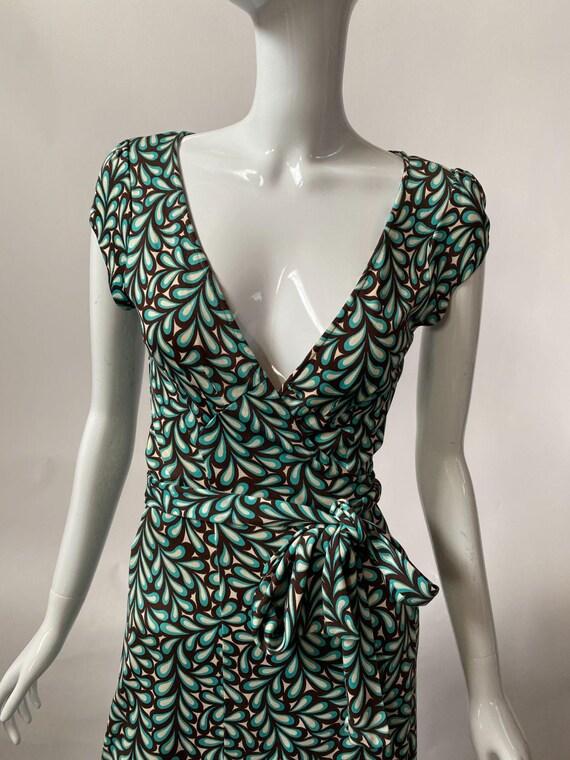 Diane von Furstenberg Vintage Wrap Dress sz 4