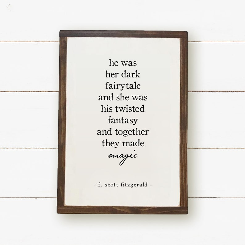 Dark Fairytale Twisted Fantasy Art Print Quote Print F Etsy