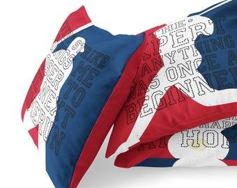 Baseball Pillows, Baseball Player Quotes, Life Quotes, Baseball Player Gift, Baseball Cushion, Boys Room Decor, Sports Decor, Baseball Gifts
