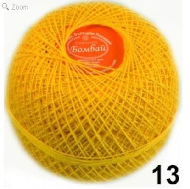 Statex fine crochet cotton lace yarn 100g ball