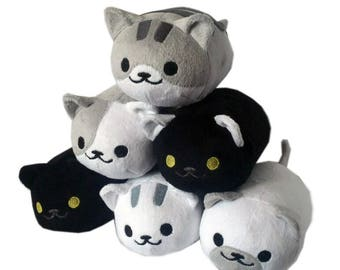 Stuffed Toy Cats Etsy