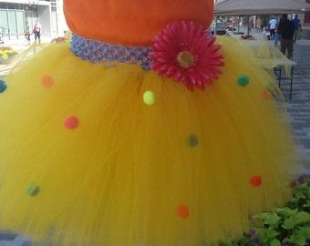 LEMON TWIST BUBBLE Gum Sensational, Sweet and Sassy tutu for Infants, Toddlers,Teens