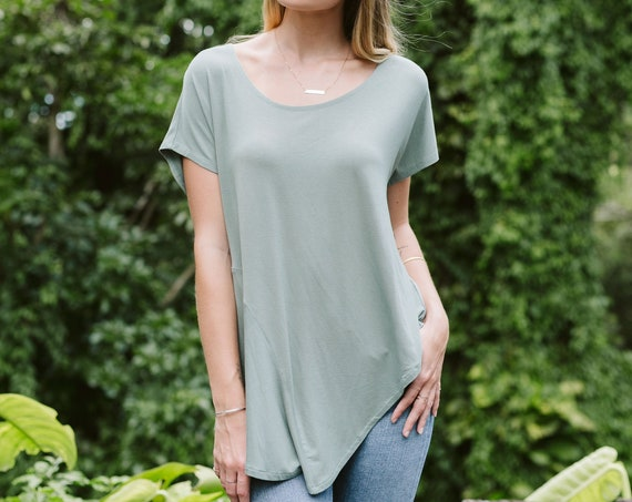 Asymmetry Tee / More Colors!