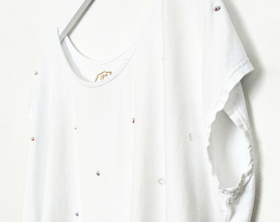 Sparkle Tee with Swarovski Crystals / Organic Cotton Collection