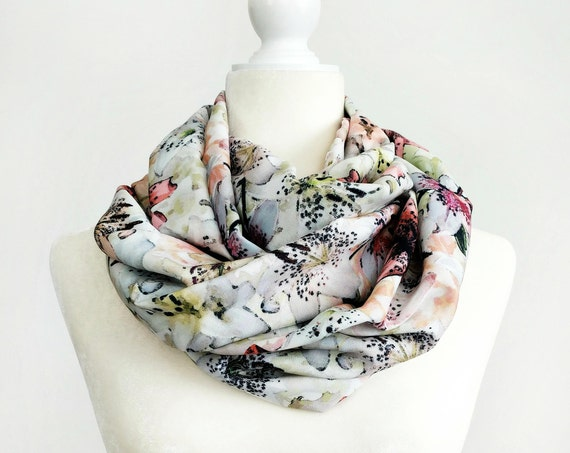 Infinity Scarf / Tiger Lily Exclusive Print