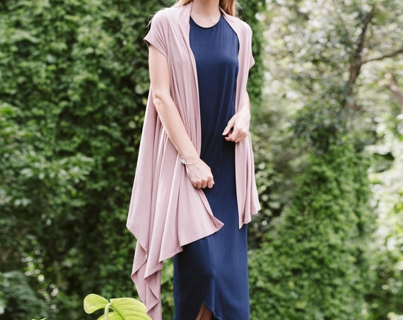 Asymmetry Cardigan / Long or Short Sleeve / More Colors!