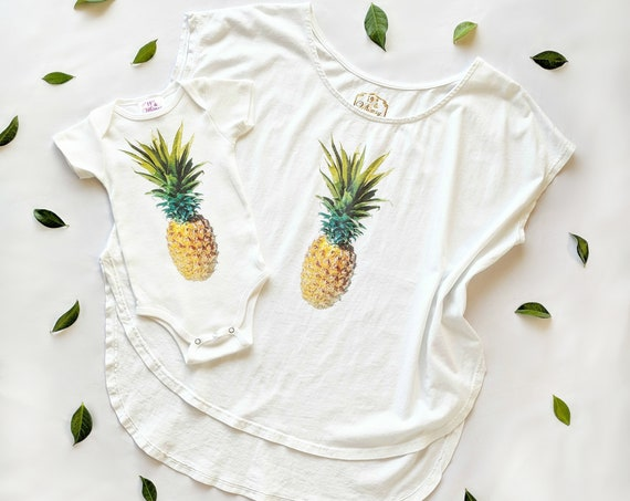 Keiki Pineapple Onesie