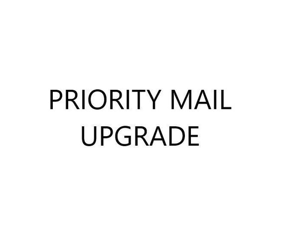 Priority Upgrade for U.S. Orders / Optional Additional Cost for Lightweight Packages