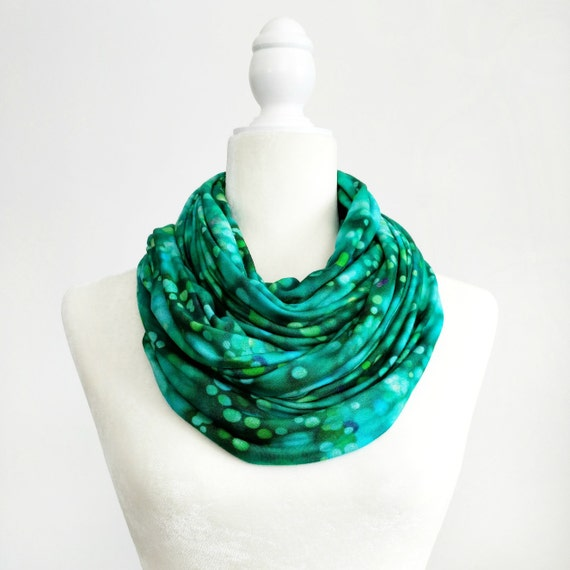 Infinity Scarf / Teal Pond Exclusive Print