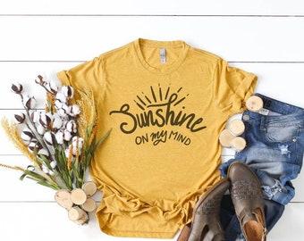 4b1c4cf8d8e06 SUNSHINE on my Mind Women s T-Shirt