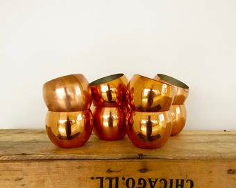 Copper Craft Roly Cups