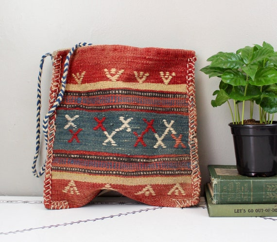 Woven Tapestry Shoulder Bag