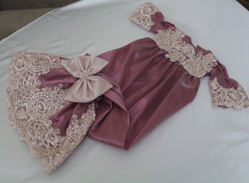 Take me home baby lace gown