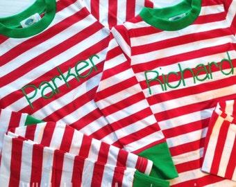 Children's Personalized Christmas Pajamas