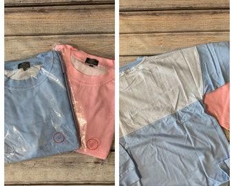 Seersucker Accent Pullover Shirt