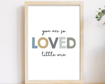 So Loved Little One Etsy