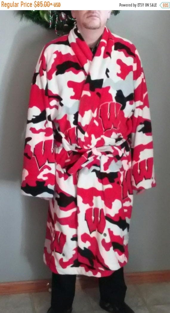 Spring into Savings Sale Men's themed/sport robe - NFL, NHL, College, basketball, or any other theme!!!