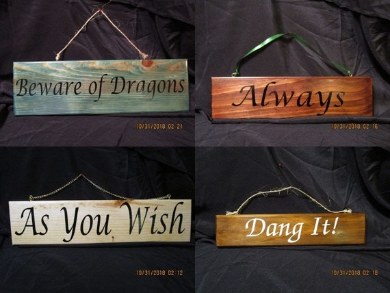 HandMade Wooden signs - ready to ship or design your own!!